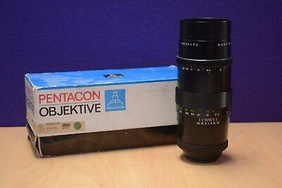 Pentacon Objective 4/200 Lens in Original Box