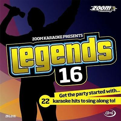 Zoom Karaoke CD+G - Legends Volume 16 - Bob Dylan CD+G New Sealed