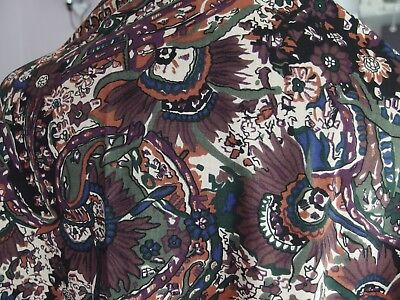 vintage Liberty wool shawl scarf