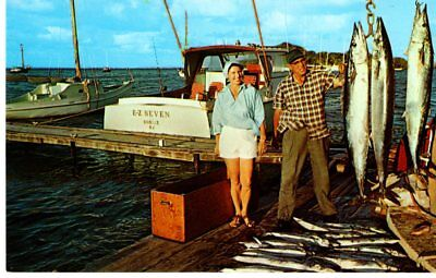 Virgin Islands, Great Fishing At St. Croix, Unposted- Postcard