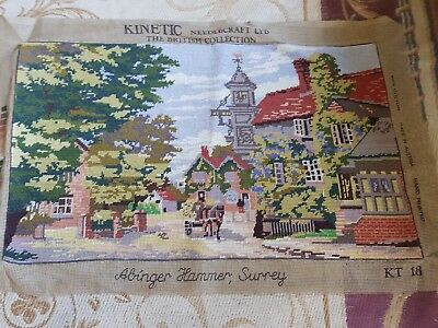 vintage finished english tapestry