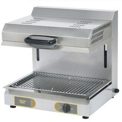 Roller Grill SEM600B Grill with Adjustable Top & Armoured Heat Tubes (Boxed New)