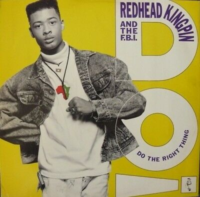 Redhead Kingpin And The FBI - Do The Right Thing (Vinyl)