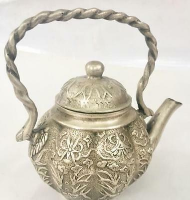Valuable Chinese Copper Statues Old Pumpkin kettle