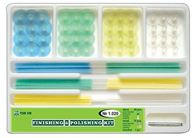 ZubR Composite Finishing Polishing Steam Discs assorted kit 48pcs+strips 1.020