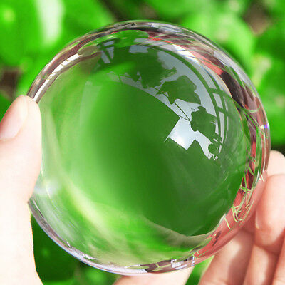 K9 Crystal Photography Sphere Decoration Lens Ball Photo Prop Lensball 80mm New