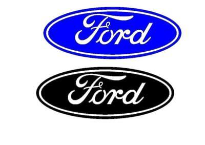 2 x FORD STICKERS DECAL 200mm x 76mm  IN VARIOUS COLOURS  FOCUS ST FIESTA RS