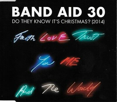 Band Aid 30 - Do They Know It's Christmas? (2014) (CD)