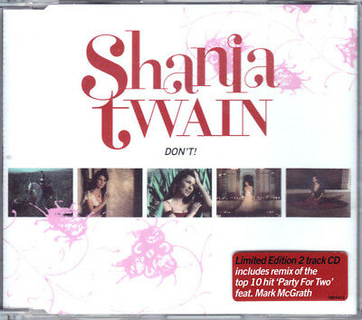 Shania Twain - Don't! (CD)