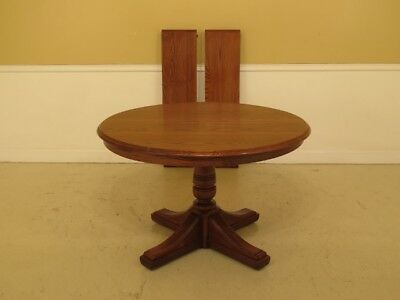 LF45782EC: BENT BROTHERS Solid Oak Extension Dining Room Table