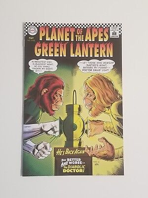 Planet Of The Apes/Green Lantern #2b Variant Cover NM+ Thompson/ Jordan/ Rivoche