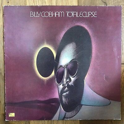 Billy Cobham ‎– Total Eclipse - Atlantic ‎– ATL 50 098 - GER - VG+/VG