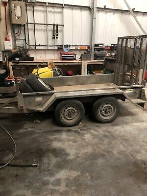 Plant trailer INDESPENSION CHALLENGER TRAILER 8x4