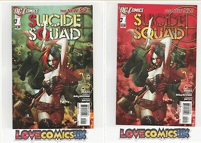Suicide Squad #1 1St And 2Nd Print Harley Quinn New 52 Dc Comics