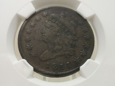 1811 large cent classic head, NGC VF details, 4689112-003