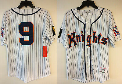 fe1867ac6f0 Roy Hobbs New York Knights The Natural Movie Authentic Baseball Jersey