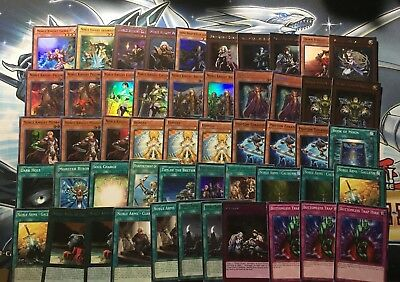 Noble Knight Deck Medraut Brothers Borz Merlin Decode Ignoble Honest Yugioh