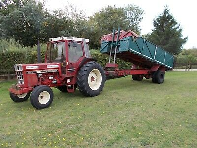 10 Ton Tipping Trailer to go behind your Tractor stored in Digger Shed