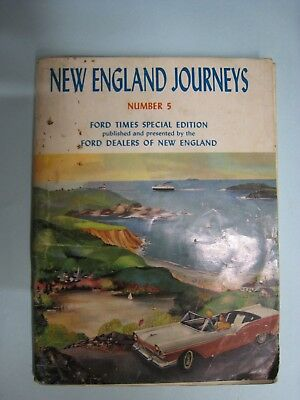 Vintage 1957 Ford Dealers New England Journeys Ford Times No. 5, Fairlane
