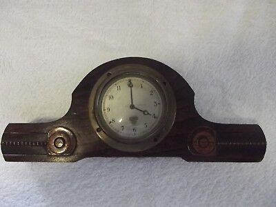 Smiths Vintage Classic Car Clock Dial Pat185.675  in Mantle Mount