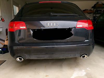 Exhaust End Pipe Audi A6 C6 4F Duplex 4 23/32x3 5/32in Bevelled Left Right