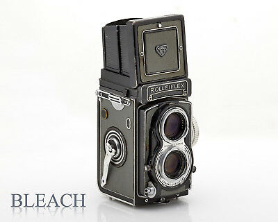 Vintage Rolleiflex T  Model 1 in Grey.