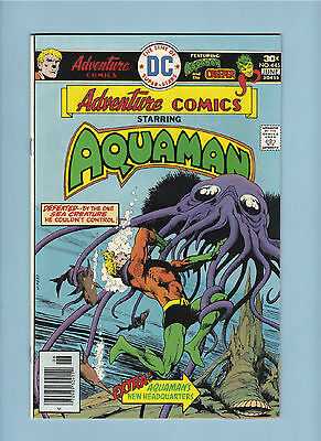 ADVENTURE COMiCS AQUAMAN #445 HIGH GRADE VF OR BETTER DC