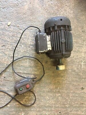 Newman 1.5hp Electric Motor Working Order