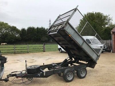 Ifor Williams Tipping Trailer / 2011 Year / 8 Ft By 5 Ft / No V.a.t.