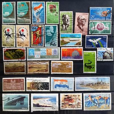 SOUTH AFRICA - Cheaper collection of 29 stamps mostly USED