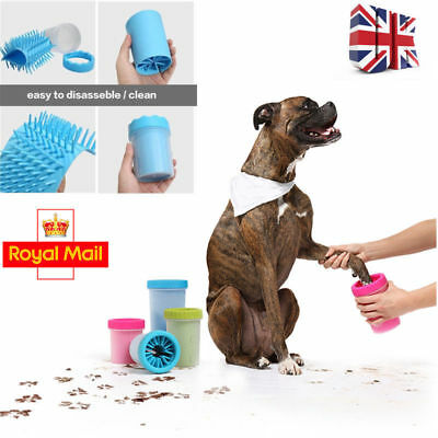 UK Bundle Portable Pet Paw Plunger Mud cleaner Grooming Saloon kennels 15pieces