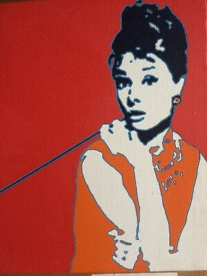 Holly Go Lightly Painted Canvas - Limited Edition