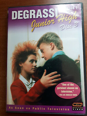 Degrassi Junior High~Season 1~Disc 3~Dvd~Used Excellent Condition~Teens~Teen