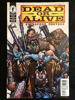 Dead Or Alive: A Cyberpunk Western Issue #3 of 4 (Dark Horse Comics) VF