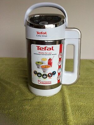 Tefal BL841140 Easy Soup and Smoothie Maker Stainless Steel White