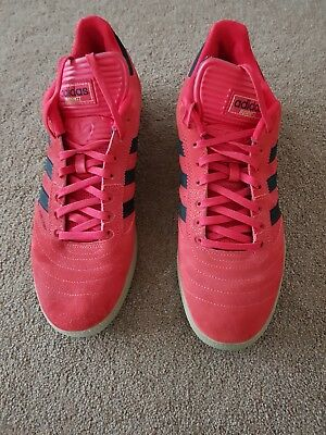 Adidas Busenitz Trainers Size 11.5 In Red/Black