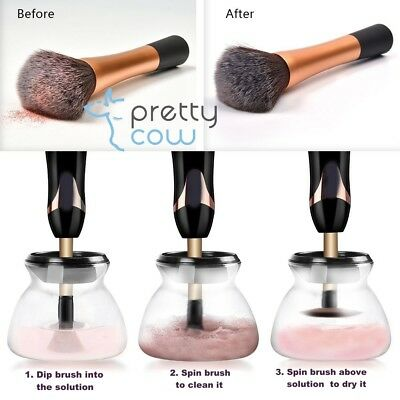 ELECTRIC MAKEUP BRUSH CLEANER by PRETTY COW UK. DESPATCHED WITHIN 24 HOURS!