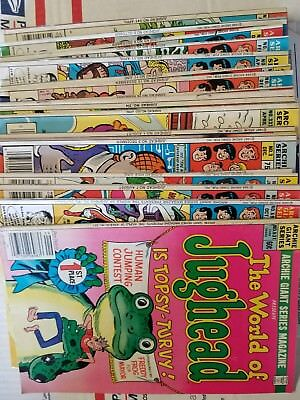 (Archie's Series)Jughead,Laugh,Veronica lot of 55 C disc. 4 #s FREE Box Shipping