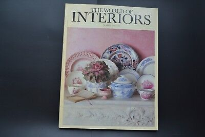 THE WORLD OF INTERIORS, MAGAZINE vintage March 1984