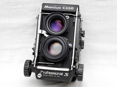 Mamiya C330 Professional 'S' With f= 80mm 1: 2.8 Mamiya Sekor S Lens UK