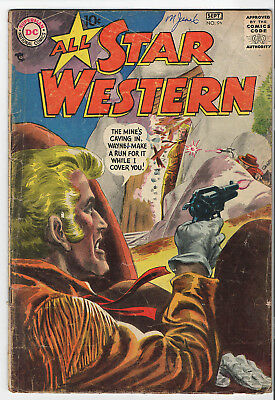 ALL STAR WESTERN #96  1957 issue DC comics