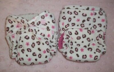 Newborn fitted Cloth Diapers lot of 2