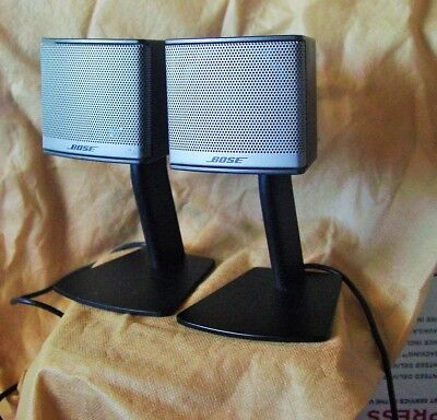 Bose Companion 3 Series Ii Satellite Speakers Working ( Pair ) (Used) As Is