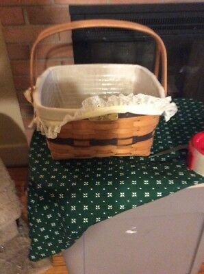 Longaberger JW Collection 1992 Cake Basket