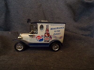 Vintage Pepsi Cola Die Cast Delivery Truck Bank A0000