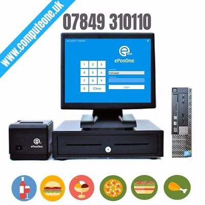 Restaurant Electronic Point of sale, Cash Register, All in one system