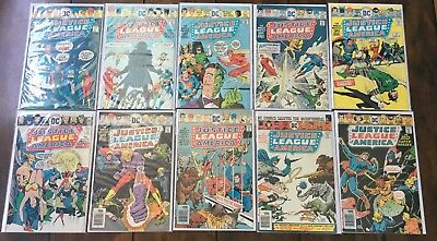 Justice League of America vol 1 122-158 RUN LOT SET 30 ISSUES