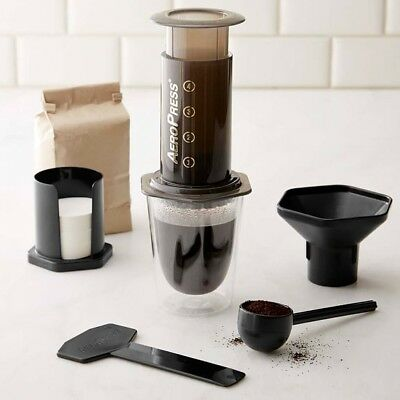 Aeropress Coffee & Expresso Maker Kit with 350 Filters - 100% Genuine
