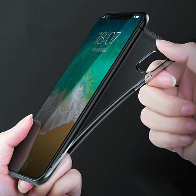Ultra Slim Crystal Clear Protector Shockproof Soft Cover For Apple iPhoneX Case