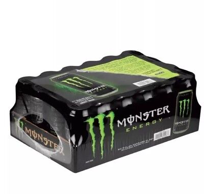 Monster Energy Drink (16 oz. cans, 24 ct.) GREEN MONSTER Can